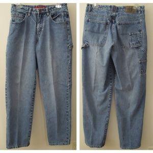 Vtg Unionbay Distressed Carpenter Jeans Junior 7